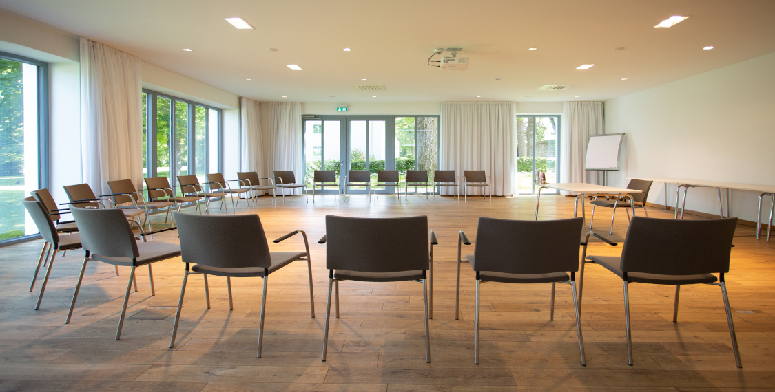 Conference rooms in the seminar hotel in Bad Aibling